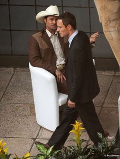 Pitt and Fassbender in the Counselor