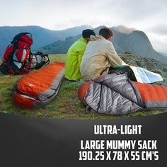 This ultra-light sack combines 3-season comfort & warmth that #hiking & #backpacking enthusiasts will love! http://amzn.to/2tL8gb6 #sleepongbag #camping #outdoors