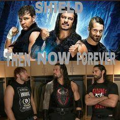 Almost Monday??? #sethrollins #RomanReigns #DeanAmbrose #TheShield #theshieldreturns #theshieldreunion #WWE #RAW