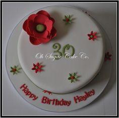 Flower detail Cake