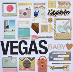 Hello hello! Today I'm sharing a travel themed layout using the new Journey collection by Crate Paper. It's just perfect for documenting v...