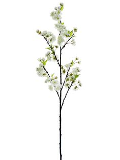 "Cherry Blossom Spray in White 45"" Tall $10.99"