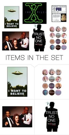 """""""XFiles"""" by lilann2721 ❤ liked on Polyvore featuring art"""
