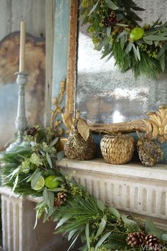 Elegant Holiday Decor Ideas - Traditional Holiday Decorating - Veranda