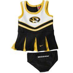 Missouri Tigers Nike Infant Cheerleader Set #missouri #mizzou #tigers