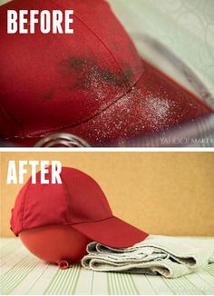 Everyone has a favorite hat they love! But how do you wash it without ruining it? This is the right way to wash your baseball cap- while keeping it's shape and color!