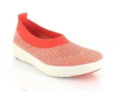 Fitness Schuhe - Fitflop Uberknit, Slip On, Low Top Ballerinas, orange. Ballerinas, Clogs, Fitflop, Slip On, Orange, Sneakers, Fitness, Top, Fashion