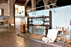 The Maritime Museum of Barcelona - the shipyards - is a collection of all the maritime history of the city, from antique vessels to maps and temporary exhibitions. Barcelona Tourism, Maritime Museum, Preserve, Boats, Backgrounds, Collections, Culture, History, Furniture