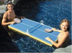 pool ping pong!