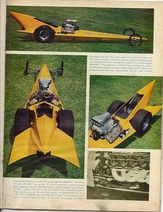 Ed Roth's vision of a dragster