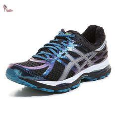 Gel-Phoenix 8, Chaussures de Running Compétition Femme, Multicolore (Aqua Splash/Safety Yellow/Diva Blue), 37 EUAsics