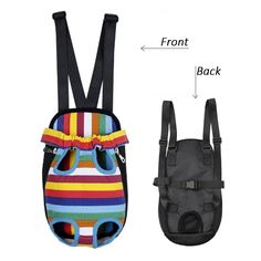 Pet Backpack, Jewelvwatchro Canvas Travel Backpack Carrier for Cats and Dogs -- More info could be found at the image url. (This is an Amazon affiliate link)