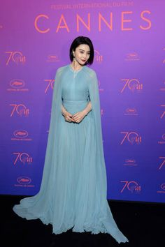 Jury member Fan Bingbing attends the Opening Gala dinner during the 70th annual Cannes Film Festival at Palais des Festivals on May 17 2017 in Cannes...