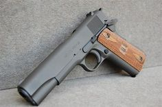 Springfield Armory M1911-A1 GI - Rgrips.com I own this weapon...I love it!