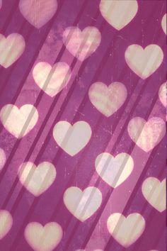 Bokeh hearts