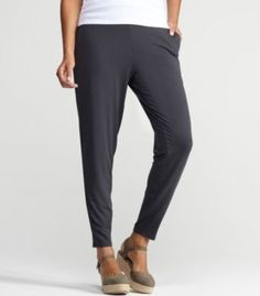 Eileen Fisher Slouchy Pant in Viscose Jersey Eileen Fisher. $128.00