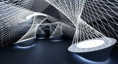 """resonate - Licht- und Soundinstallation Luminale Frankfurt 2012 fh Mainz Master """"Kommunikation im Raum"""""""