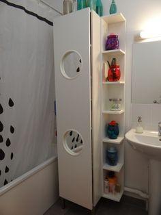 Les 26 Nouveau Sac A Linge Collection - Beauty Ideas Ikea Lillangen, Ikea Shopping, Ikea Hackers, Ikea Furniture, Bath Accessories, Restoration Hardware, Wall Shelves, Home Interior Design, Diy Home Decor