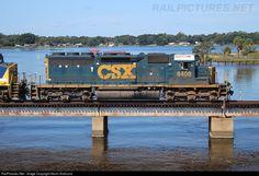 RailPictures.Net Photo: CSXT 8408 CSX Transportation (CSXT) EMD SD40-2 at Jacksonville, Florida by Kevin Andrusia