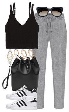 """Untitled #3622"" by lily-tubman ❤ liked on Polyvore featuring Monki, Zara, ASOS, Yves Saint Laurent and Burberry"