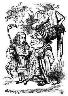 Сэр Тенниел (Лондон 1820-1914) был английский художник и иллюстратор.