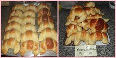 Medialunas de manteca Super faciles (fotoreceta) - Rece... en Taringa! Bagel, Scones, Doughnut, Sushi, Sweets, Bread, Chicken, Baking, Ethnic Recipes