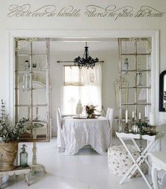 shabby inspiration❥  luv this !!!!!!