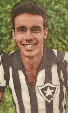 Mario Zagallo of Botafogo in 1963.