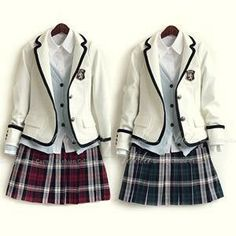 Beautiful school uniforms.