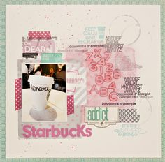 Starbucks Addict by Armance Scrap
