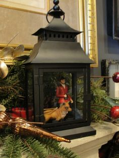 Give your home the sophisticated charm of an English manor this holiday season b. English Christmas, Noel Christmas, Country Christmas, All Things Christmas, Christmas Crafts, Christmas Vignette, Primitive Christmas, Outdoor Christmas, Christmas Christmas