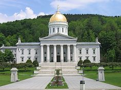 Photo about Vermont state capitol building, Montpelier, Vermont. Image of vermont, governmental, capitol - 15465342 Montpelier Vermont, I Love America, Mountain States, Capitol Building, Green Mountain, Travel Usa, Places Ive Been, Taj Mahal, Tourism