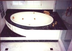marble bathtub - Yahoo Image Search Results Vanity Light Fixtures, Vanity Lighting, Marble Bathtub, Small Vanity, Jacuzzi Tub, Health Insurance Companies, Vanity Cabinet, Health Promotion, Wainscoting