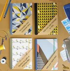 Personalised A6 Notebooks
