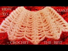 Como tejer capitas con puntos originales - How to make crochet the best…