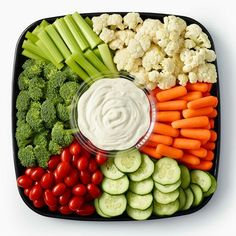 Veggie platter from Publix for munching! #Contest