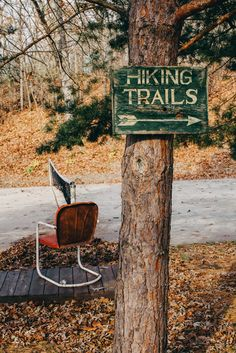 Hiking Trails by Duncan Wolfe.