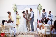 "Colorful Destination Wedding in Negril, Jamaica After Courthouse ""I Do"": Shineva + Tyejuan"