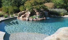 #pool design by Browning Pools & Spas