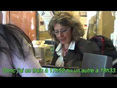 Dialogue FLE (VOST) à la gare acheter un billet de train 2 - YouTube