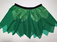 Tinkerbell Running Costume by RockCitySkirts on Etsy, $30.00