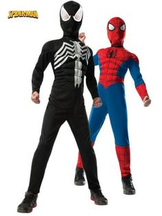 2-1 Ultimate Reversible Spiderman Child Costume   Wholesale Spiderman Costumes for Boys