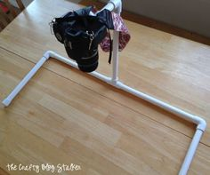 DIY Overhead Camera Mount  |  The Crafty Blog Stalker