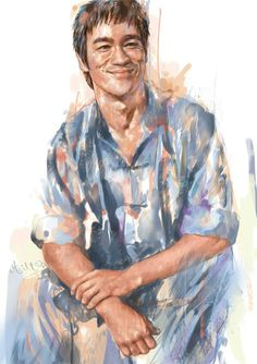 Amaizing portrait Artiste Martial, Martial Artist, Jason Statham, Jackie Chan, Kung Fu, Bruce Lee Art, Bruce Lee Photos, Bruce Lee Martial Arts, Hong Kong