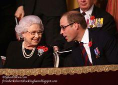 Queen Elizabeth II and Prince William                                                                                                                                                                                 More