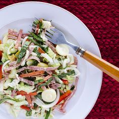 Italian Hoagie Salad