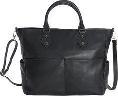 Bella Handbags Gemma Tote Black - via eBags.com!