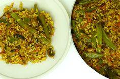 SPICY VEGETARIAN FRIED RICE - Kitchen JS