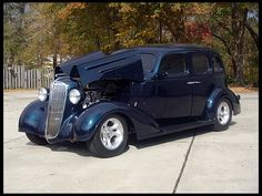 1936 Chevy Coupe for Sale | 1936 Chevrolet Standard Street Rod 355 CI, Automatic for sale by Mecum ...