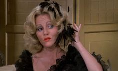 """Madeline Kahn as Lili von Shtupp. To this day I still sing """"I'm tired of playing da games"""" Oy"""